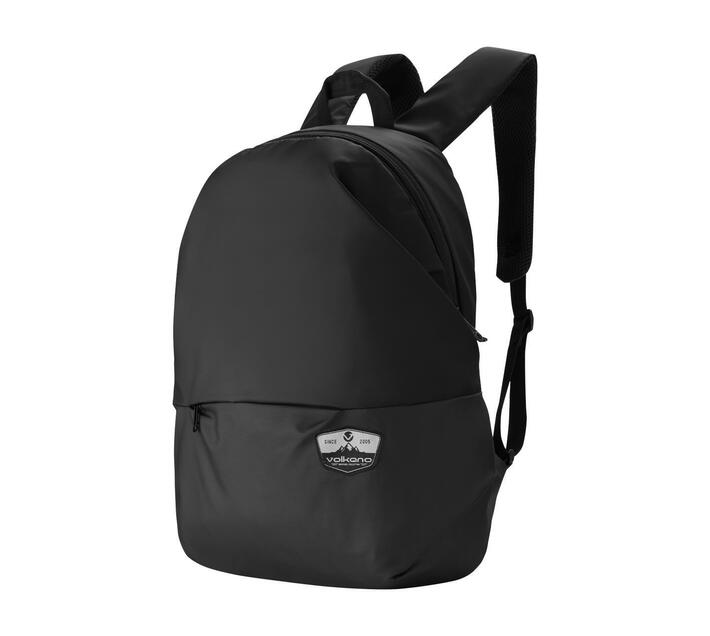 Volkano Raptor Series 15.6 (39.6 cm) Backpack in Black With Adjustable Padded Shoulder Straps for Added Comfort During Wear and Back Panel