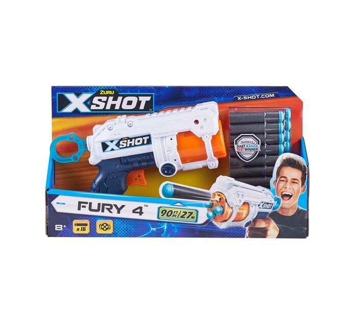 X-shot Fury 4 Foam Dart Gun with 16 Darts