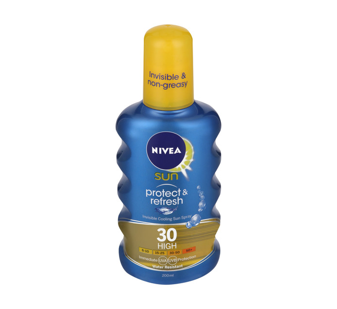 NIVEA Sun Invisble Spray SPF30 (1 x 200ml)