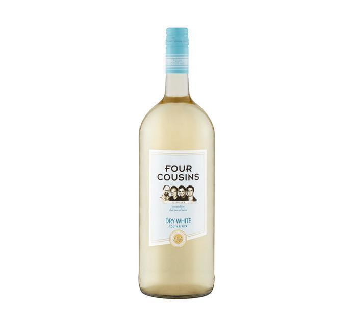 Four Cousins Dry White (1 x 1.5 l)