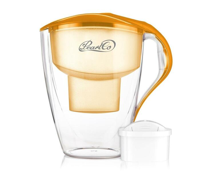 PearlCo Water Filter Jug Family Unimax LED 4 Litre Orange