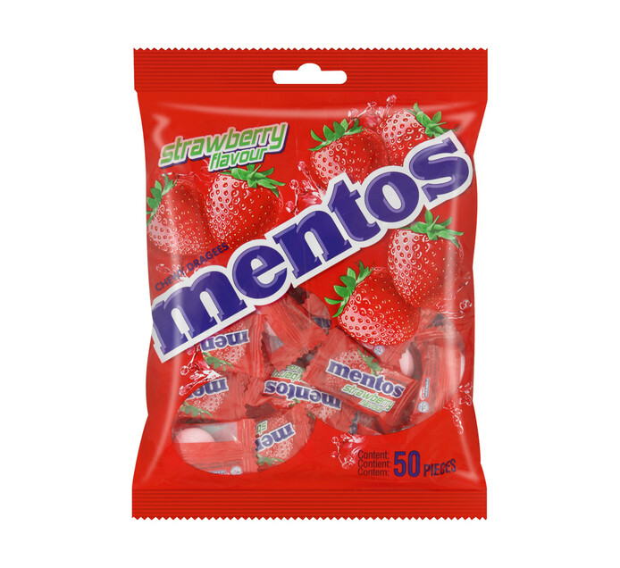 Mentos Chewy Sweets Strawberry (40 x 50's)