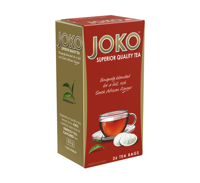 JOKO Tagless Teabags (6 X 26's)