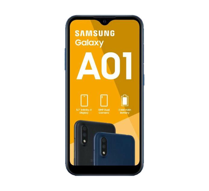 Samsung Galaxy A01 Dual Sim Blue