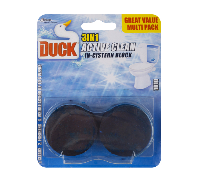 Toilet Duck Multi Cleaner Active Blue (2 x 45g)