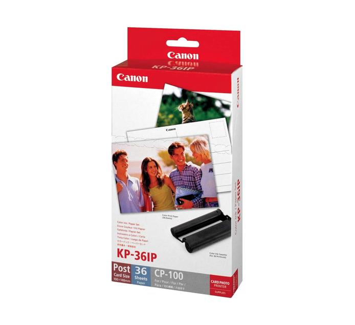 CANON KP-36 Selphy Ink and Paper Bundle | Ink and Toner