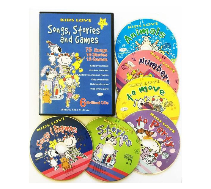 Kid`s Love: Songs, Stories and Games