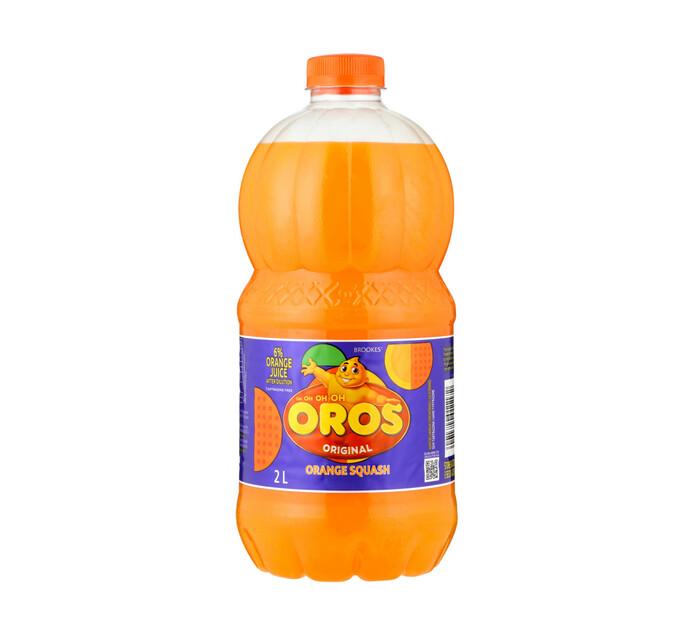 Oros Oros Squash Orange (1 x 2l)