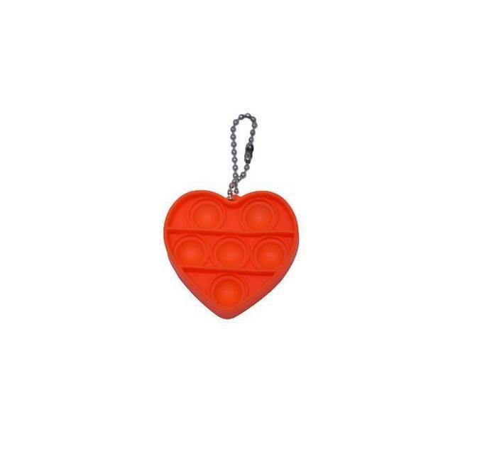 Poppet Fidget Toy (Orange Heart)