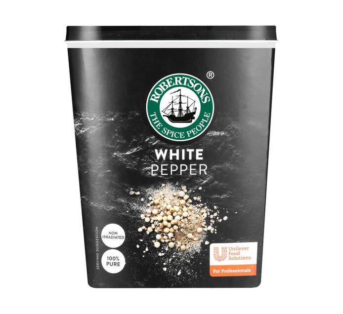 Robertsons Spice White Pepper (1 x 800g)