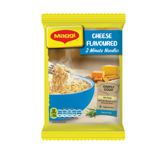 Maggi 2-Minute Instant Noodles Cheese (1 x 73g)