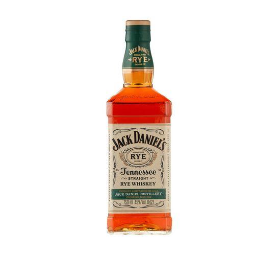 Jack Daniel's Tennessee Rye Whiskey (1 x 750 ml)