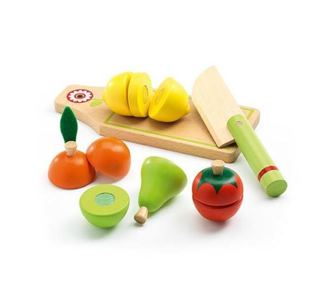 Djeco Role Play- Fruits and Vegetables to Cut