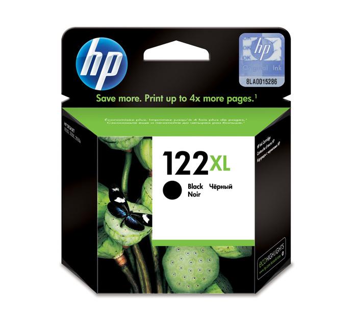 HP 122XL Black Ink Cartridge