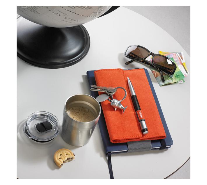 Troika Organiser Document Travel Case TRAVEL OFFICE Orange/Grey