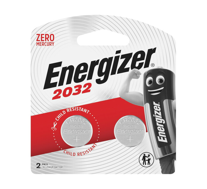 Energizer Lithium 3V Lithium Coin Battery 2-Pack