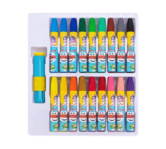 Deli Stationery Oil Pastel 10×75Mm Hexagon Barrel Asst.
