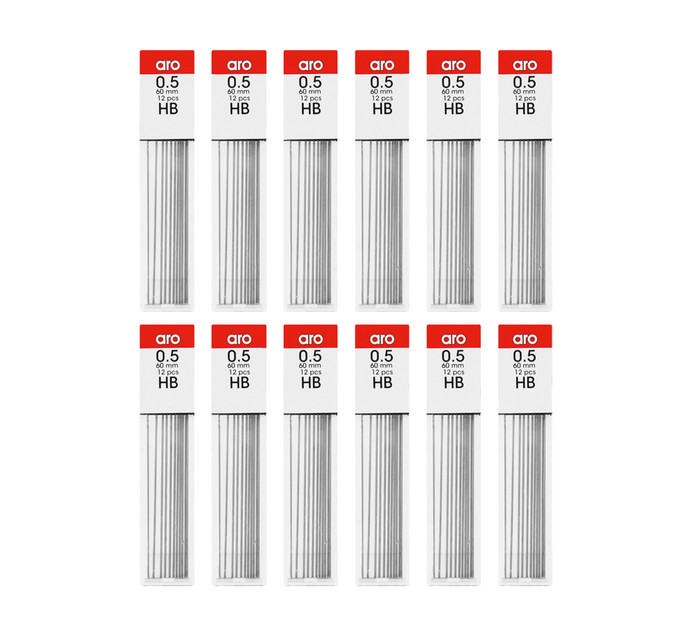 ARO HB Pencil Leads 12 Tubes