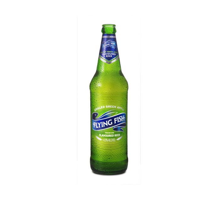 Flying Fish Chilled Green Apple Flavoured Beer (12 x 660ml)