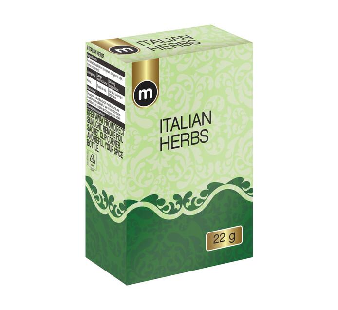 M Brand Refill Seasoning Italian Herbs (1 x 22g)