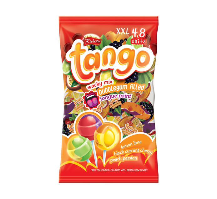 Richester Foods Tango Pops Wacky Mix (1 x 48's)