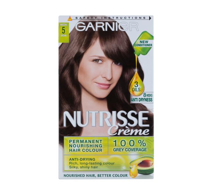 Garnier Nutrisse Hair Colour 5 Brown (1 x 1's)