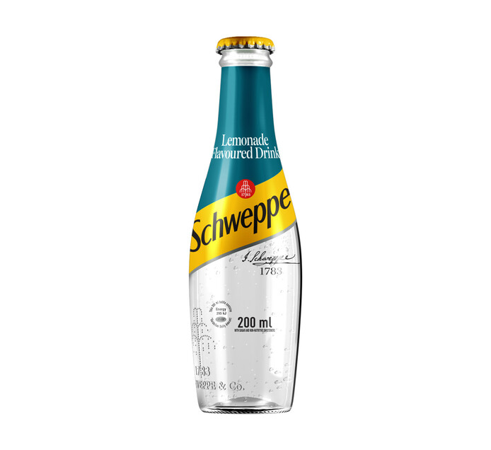 Coca Cola Soft Drink Lemonade (4 x 200ml)