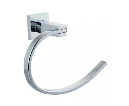 Hand Towel Holder Square Stainless Steel