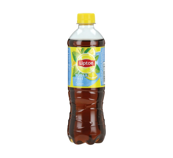 Lipton Ice Tea Lemon Sugar Free (6 x 500ml)