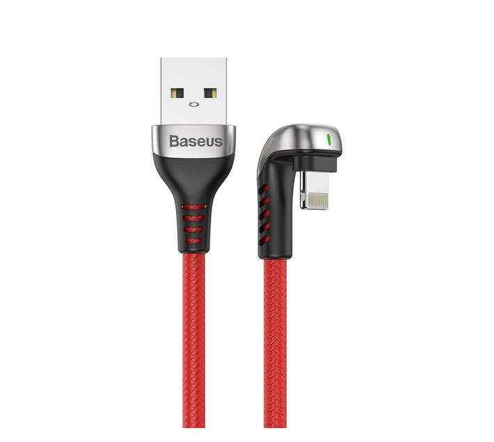 Baseus 2m - 1.5A Green Series USB Type-A 2.0 to Lightning Cable - Red