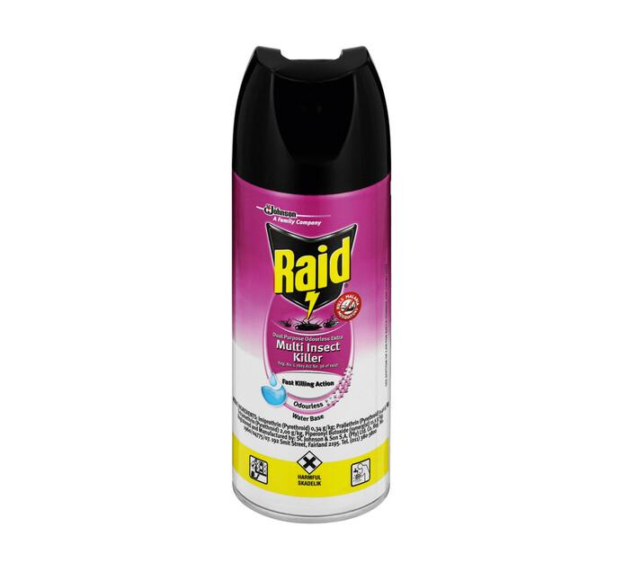 Raid Insect Spray Odourless (1 x 300 ml)
