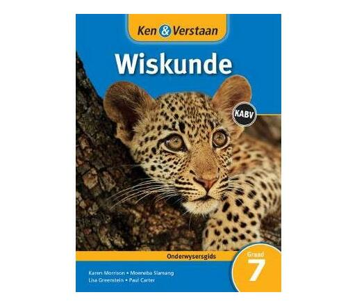 Study and Master Mathematics Grade 7 for CAPS Teacher's Guide Afrikaans Edition : Senior Phase