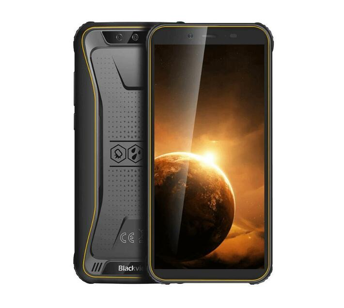 Blackview BV5500 Plus Rugged Android 10 Smartphone - 3GB, 32GB, IP68