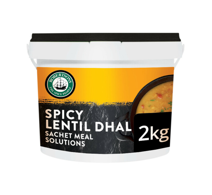 Robertsons Dry Cooking Sauce Spicy Lentil Dhall (1 X 2kg)