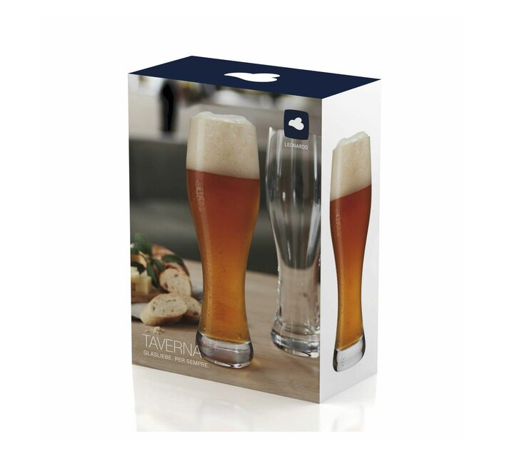 Leonardo Beer Glass Weissbeer Taverna 330 ml Set of 2