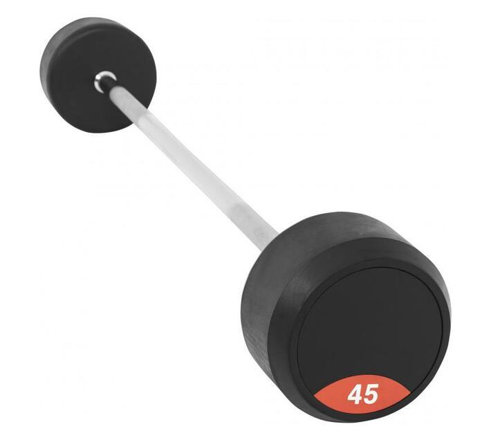 GORILLA SPORTS SA - Fixed Rubber Barbell 45KG