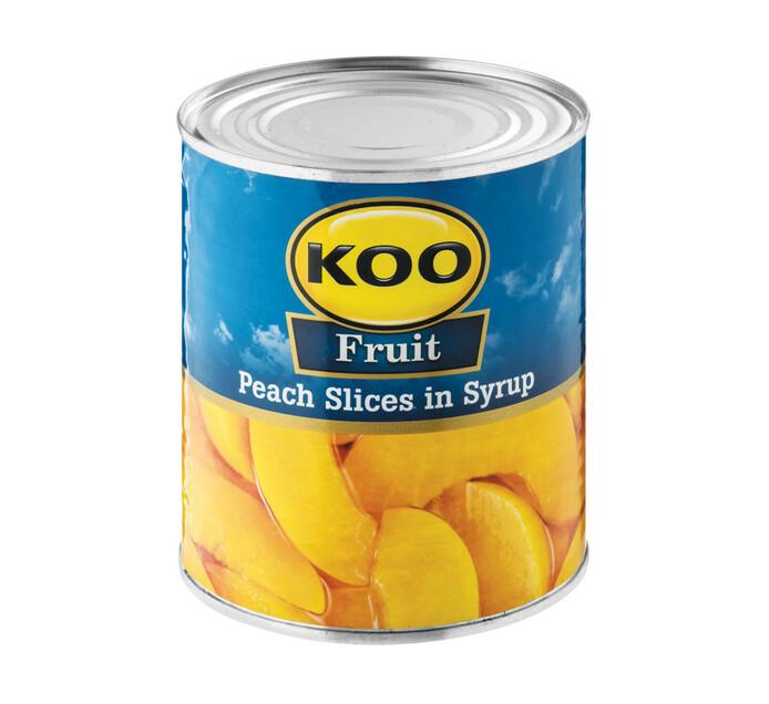 KOO Peach Sliced (1  x 825g)
