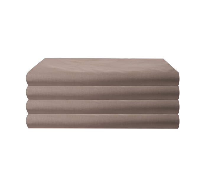 Primaries King Fitted Sheet Coffee
