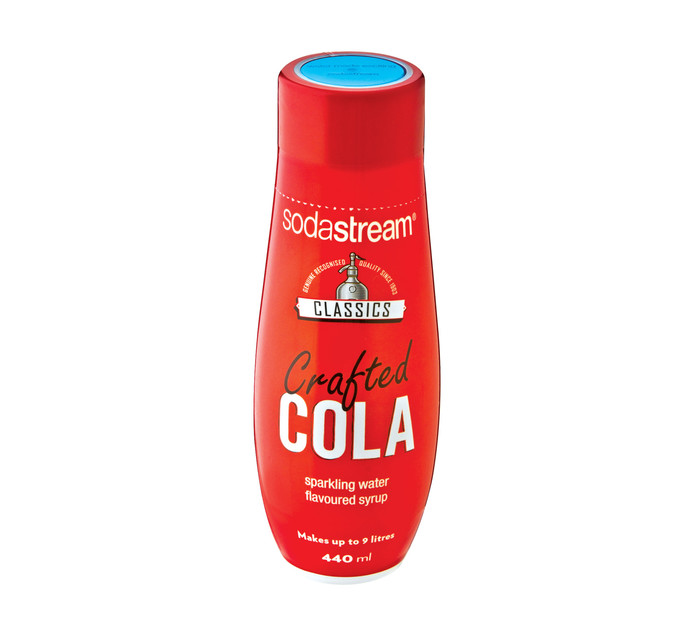 Sodastream 440 ml Classics Syrup Crafted Cola