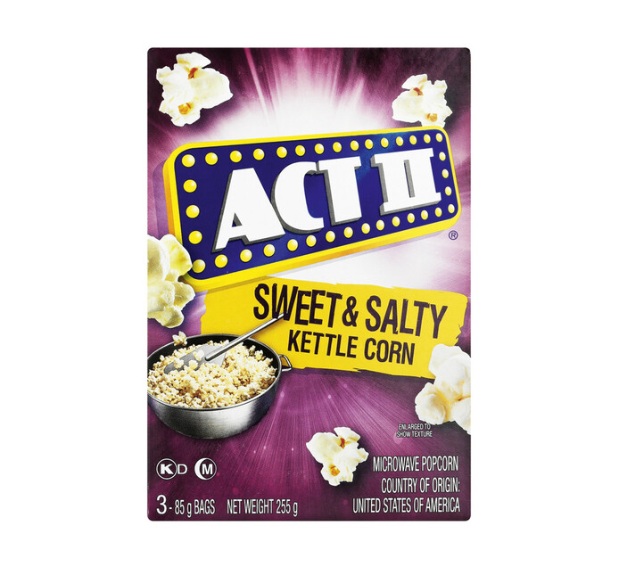 Act 11 Microwave Popcorn Sweet & Salty (1 x 255g)