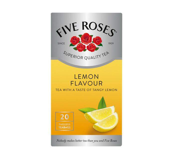 Five Roses Flavoured Tea Lemon (1 x 20's)