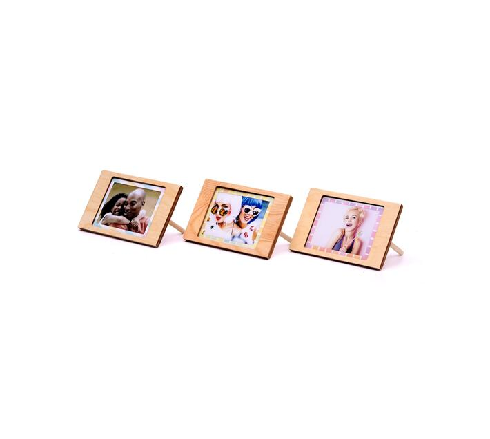 Instax Mini Wooden Frame Single Natural Wood
