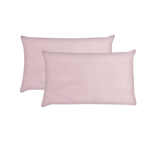 Primaries Standard Pillowcases 2-Pack Dawn pink
