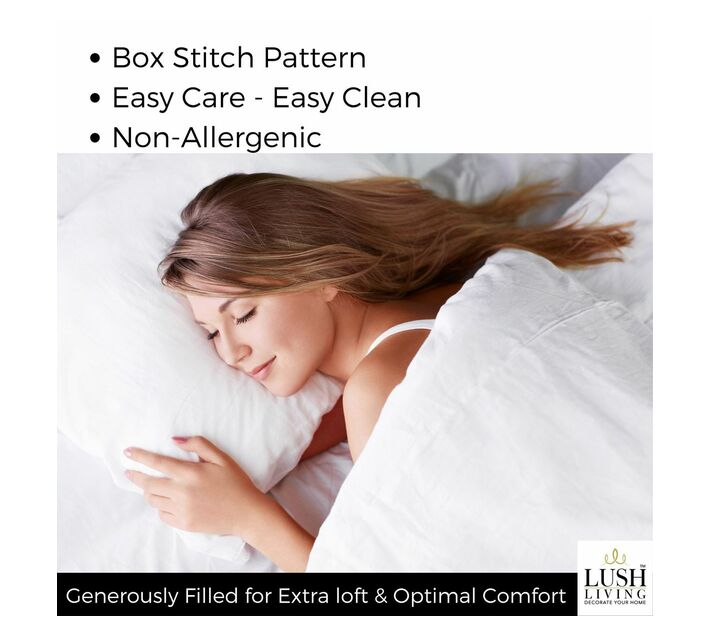 Lush Living Duvet Inners Set of 2 - Sleep Solutions - Hotel Range - Set 11 - Queen