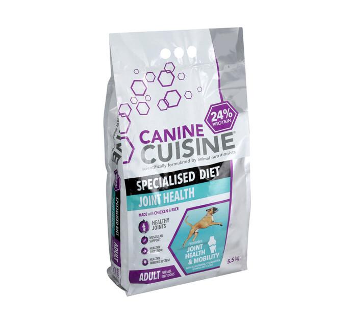 Canine Cuisine Adult Joint Health Dry Dog Food (1 x 5.5 kg)