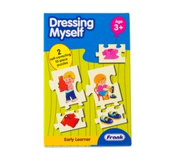 Frank Early Learning Dressing Myself