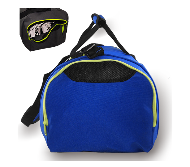 Kings Dome Shaped Carry Bag Royal & Green - 2577M