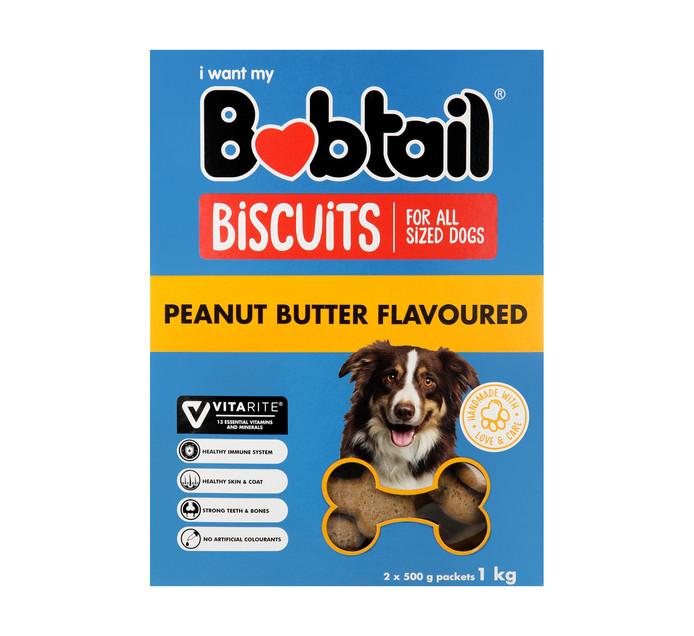 Bobtail Biscuits Peanut Butter (1 x 1kg)