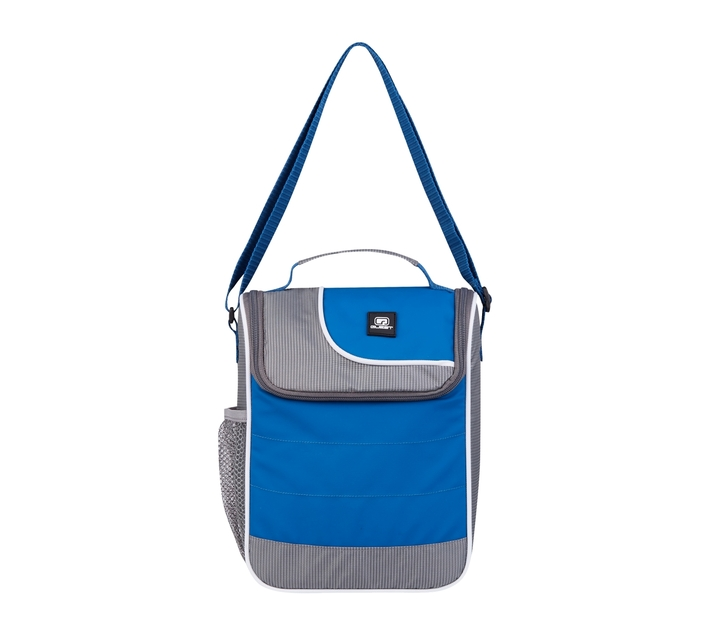 Quest Duo Series Lunch Cooler - Blue/Grey