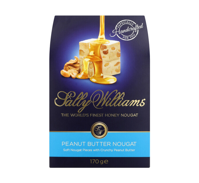 Sally Williams Nougat Gift Pack Peanut Butter (1 x 170g)